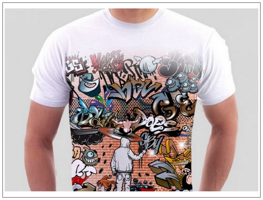 Печть на футболках